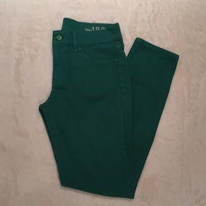 Green Gap 1969 Legging Jean